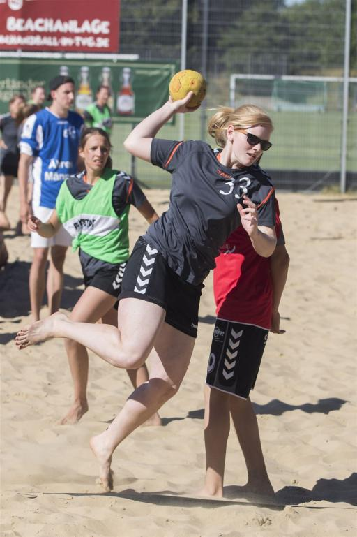 GM-Hütter Pott´s Beach-Cup ein super Event - HSG Ladies gewinnen Damen-Pokal